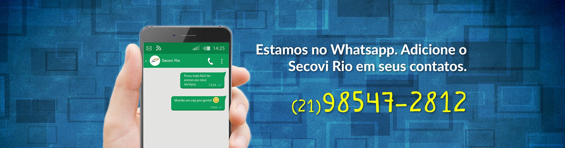 Secovi Rio Whatsapp
